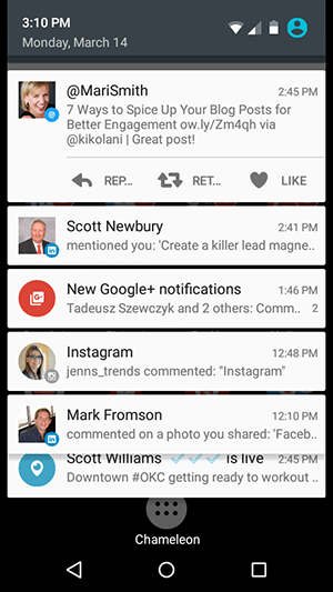 detailed android notifications