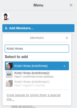 add a member to a board in trello