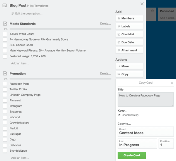 copy a template in trello