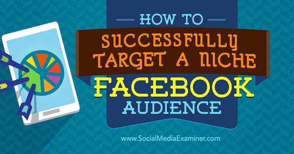 facebook audience niche targeting