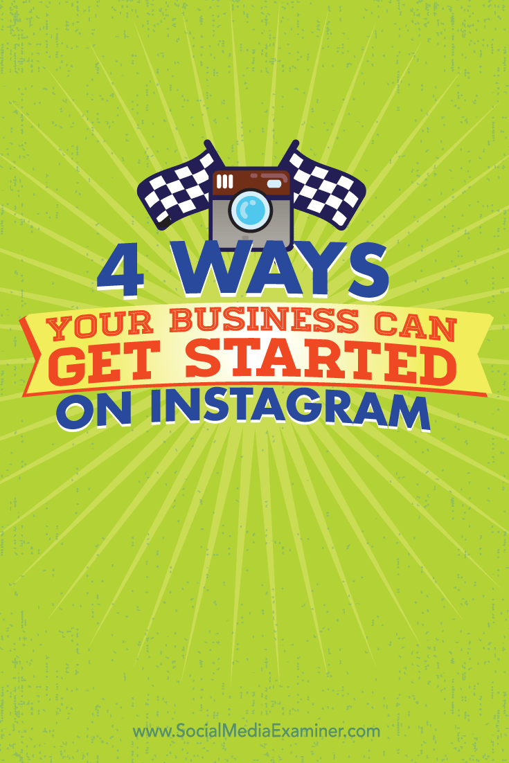 get your business started on instagram