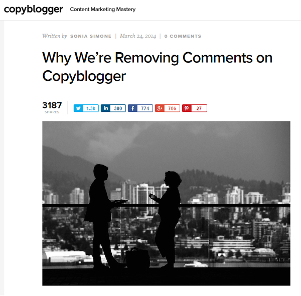 copyblogger removed comments
