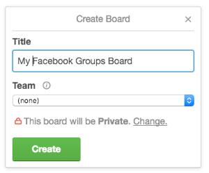 trello board creation
