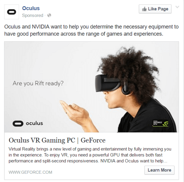 oculus product launches