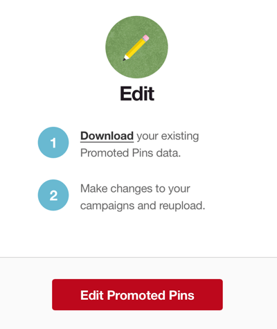 pinterest download promoted pins data