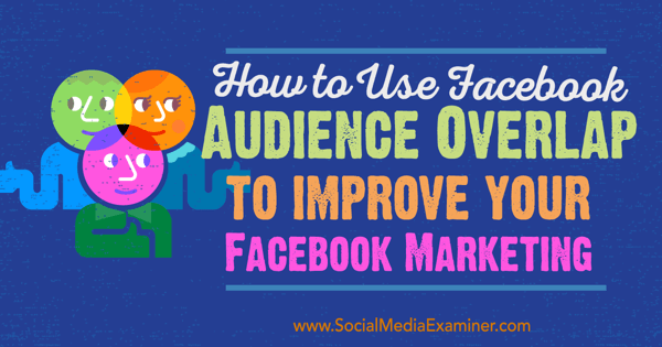 facebook marketing audience overlap