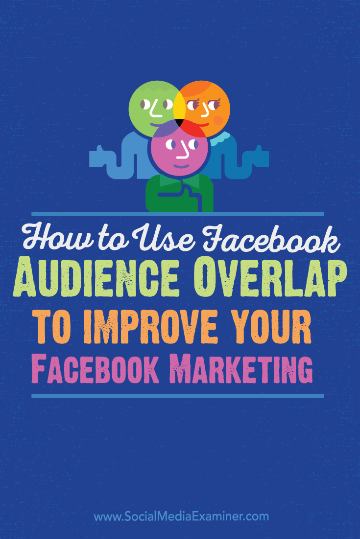 improve facebook marketing with audience overlap
