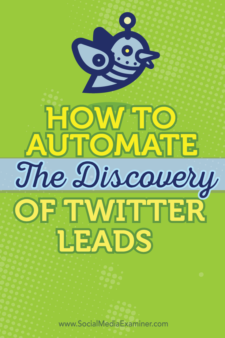 use ifttt to automate twitter lead discovery
