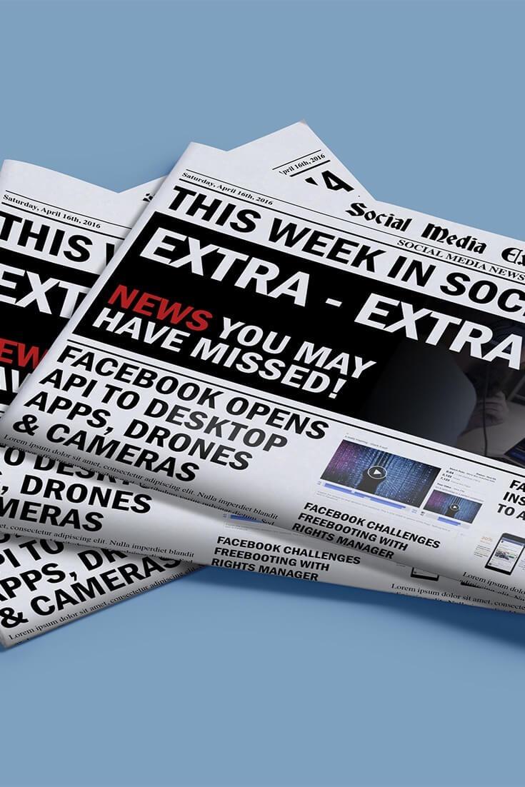 social media examiner weekly news april 23 2016