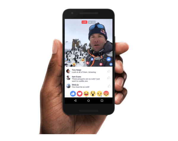 facebook live new feature rollout