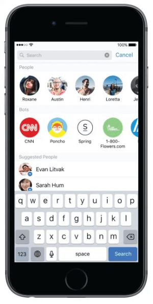 facebook messenger platform beta