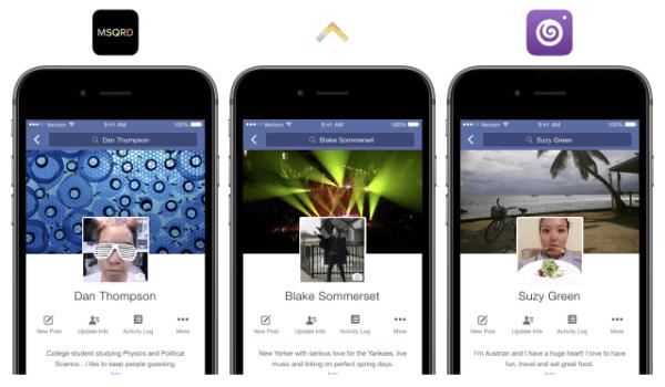 facebook profile expression kit