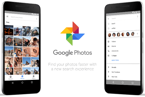 google photo search feature