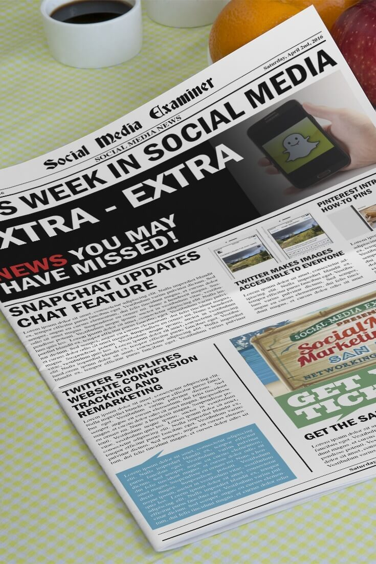social media examiner weekly news april 2 2016