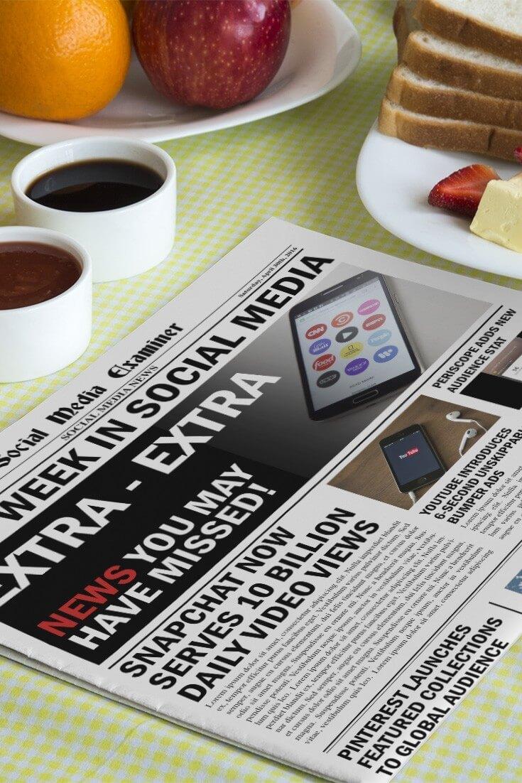 social media examiner weekly news april 30 2016