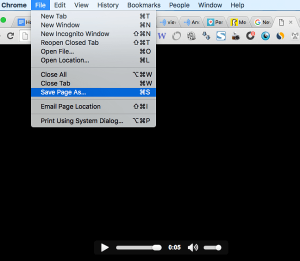 file save as to download anchor wave audio file