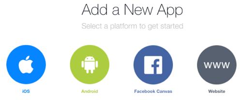 create facebook app for website
