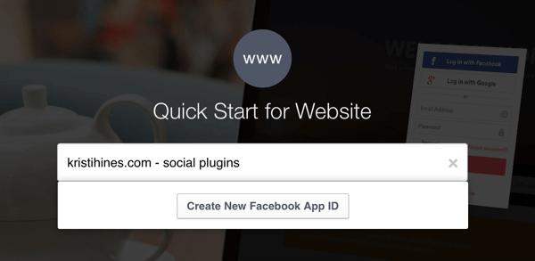 name facebook app
