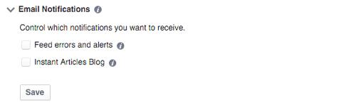 Bạn nên click chọn để nhận thông báo nếu có lỗi phát sinh