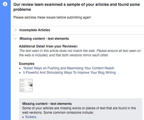 Nếu FB không duyệt, có thể bạn phải đợi x2 thời gian và phải update thêm ít nhất 10 bài nữa...