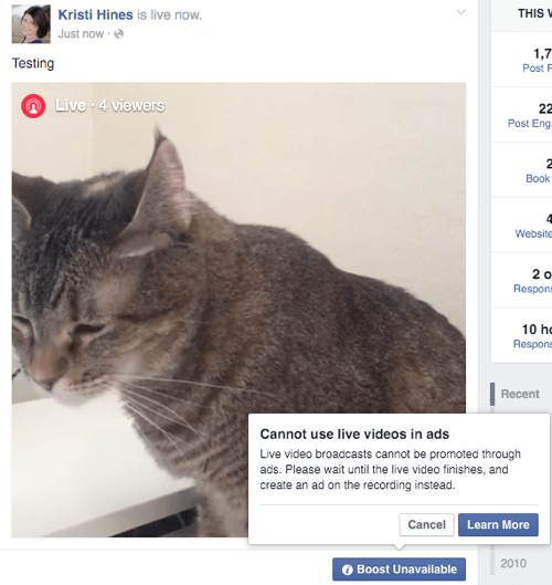 5 New Facebook Live Video Features for Marketers : Social Media Examiner