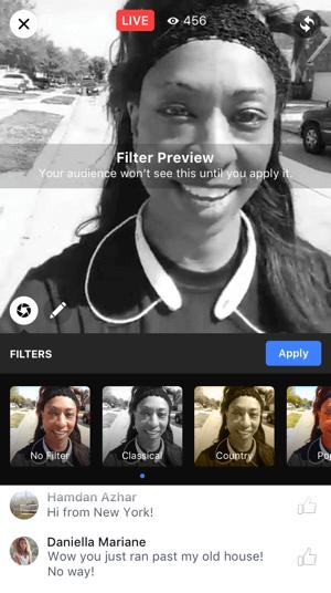 facebook live video tools