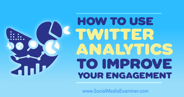 twitter analytics to improve engagement