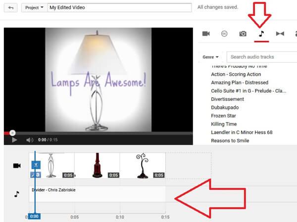 add music in youtube creator studio