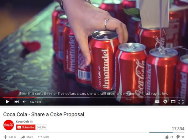 user-generated video content example