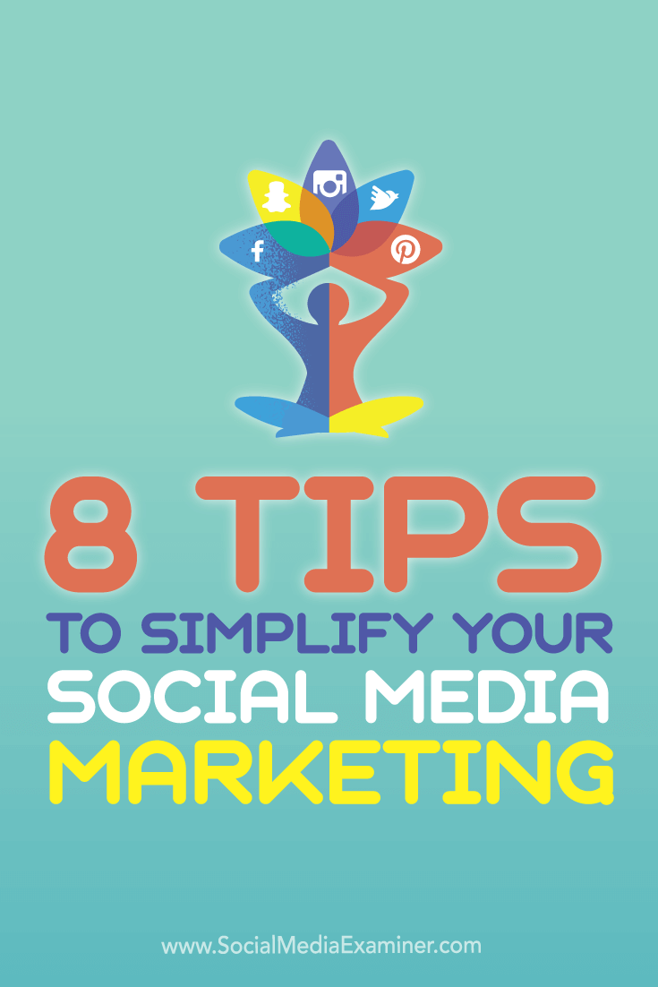 simplify social media marketing
