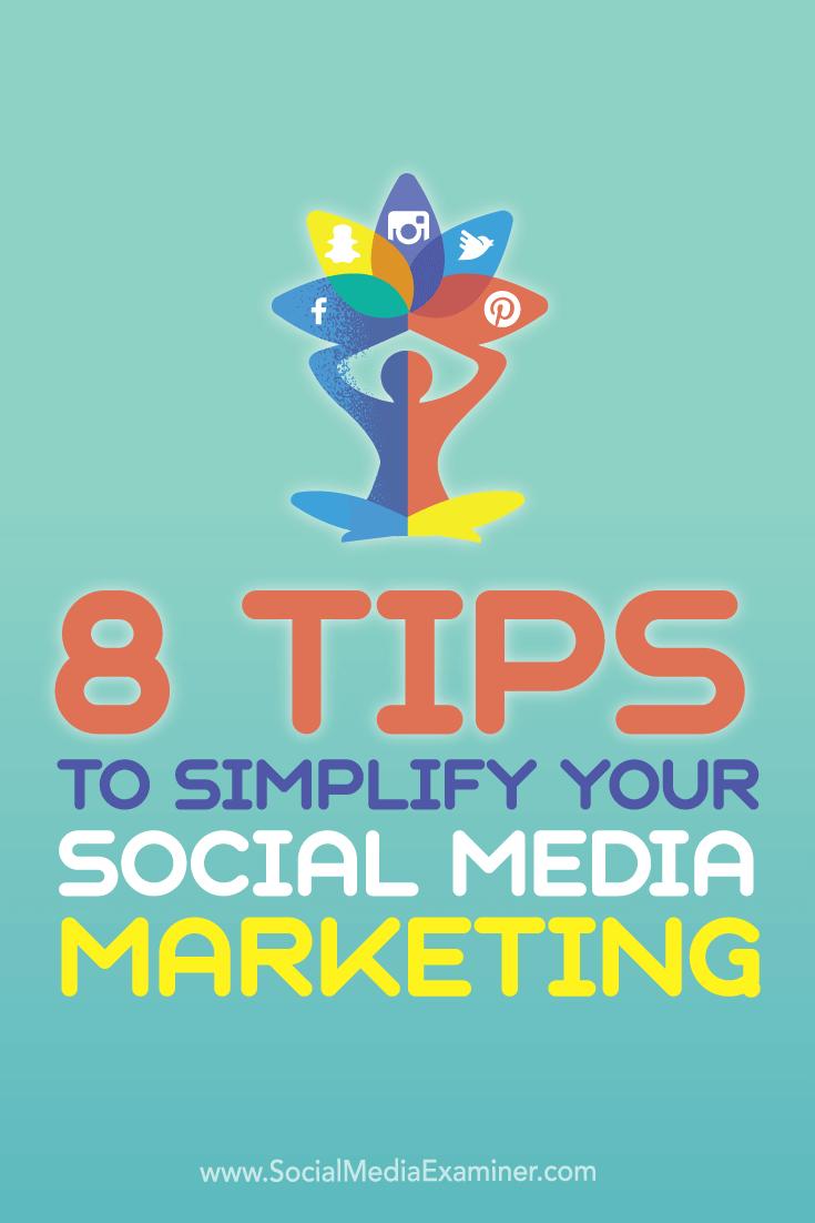 simplify social media marketing