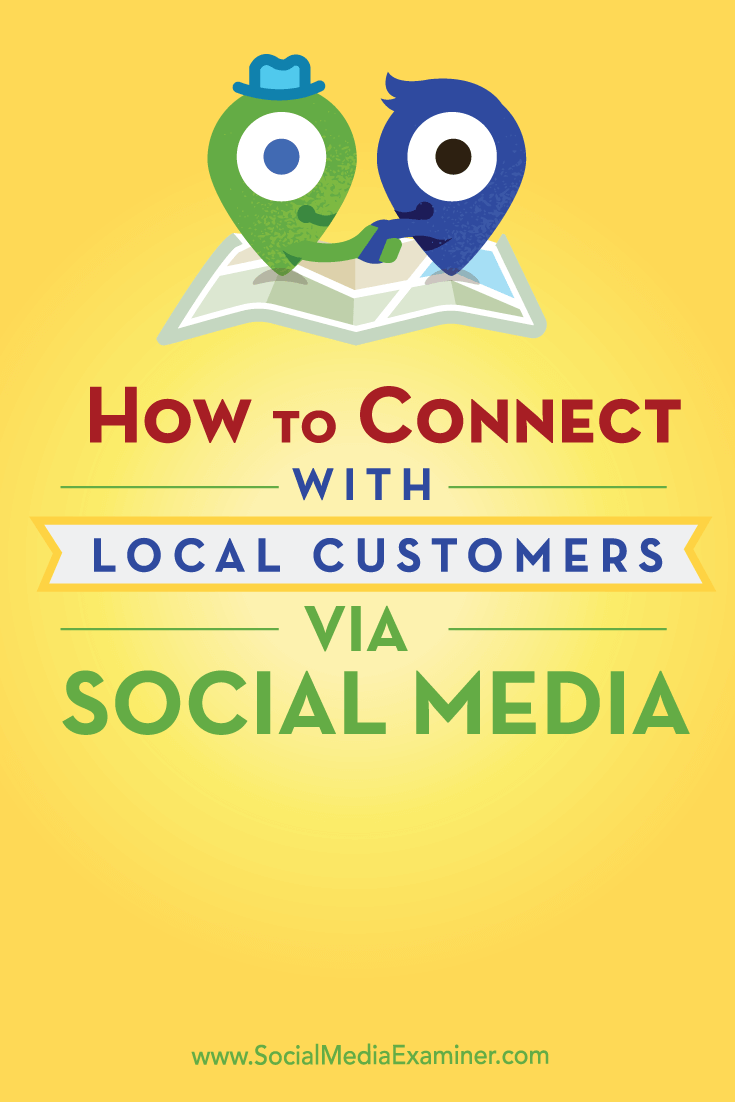 connect with local customers on top social media networks
