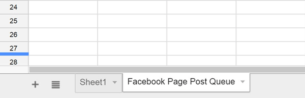 google docs create sheet