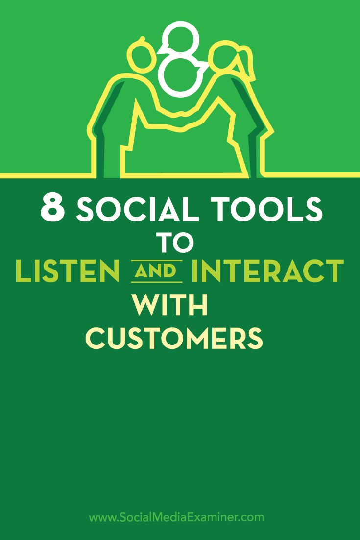 tools for social customer service
