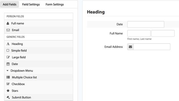 promojam contest landing page template