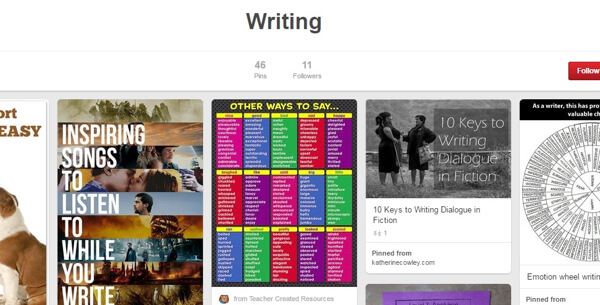 pinterest curation board