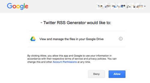 google drive permissions