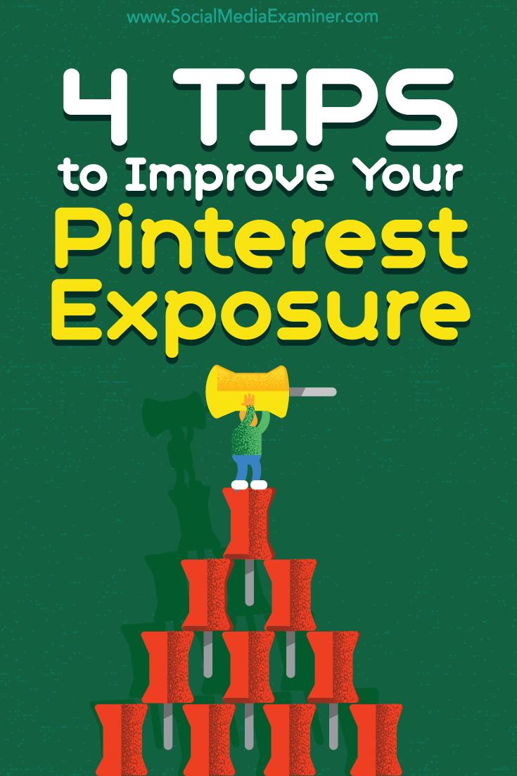 improve pinterest quality for exposure