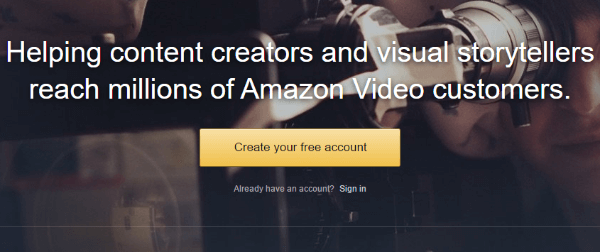 amazon video direct service