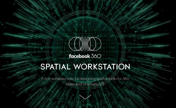facebook 360 spatial workstation