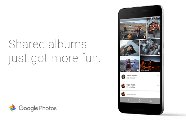 google photo sharing