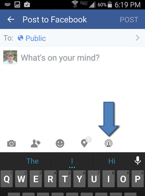 Facebook Live Icon Android
