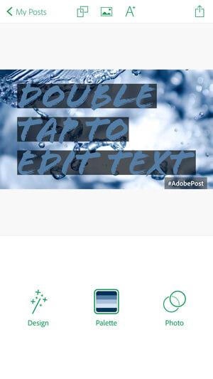 adobe post edit