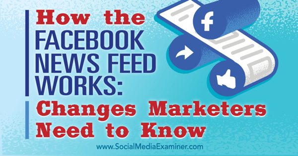 understand facebook news feed