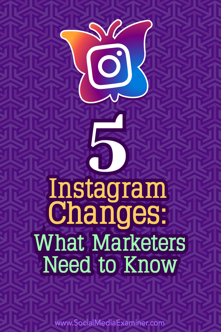 Tips on how the most recent Instagram changes could affect your marketing.