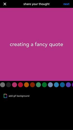 create quote image in kanvas