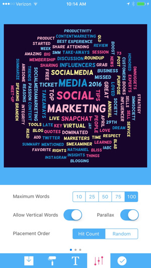 tweetroot customize tag cloud