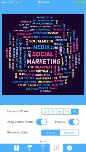 tweetroot customize tag cloud