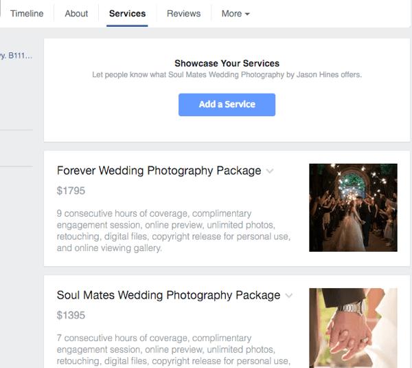view facebook service