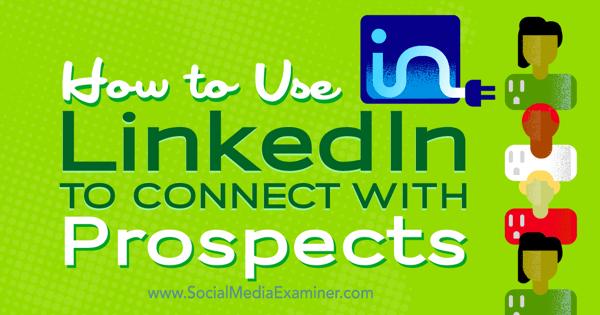 Verbinden Sie sich mit LinkedIn für Unternehmen
